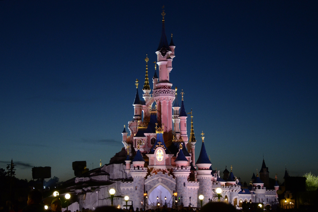 Sleeping beauty castle disney resort paris explored